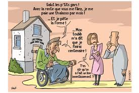 homme occupe humour